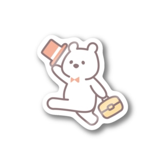 LITTLE WHITE BEARS(ステッカー) Stickers