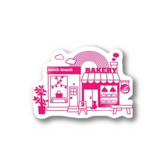 雑貨屋&パン屋 ステッカー