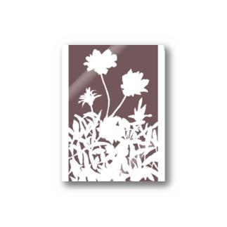 花咲く小径⑥あか Stickers