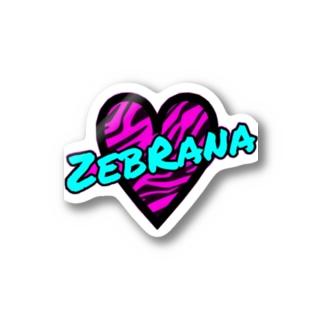 ZebRana Stickers