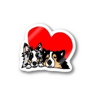 ジョニーくんマリーちゃん Stickers