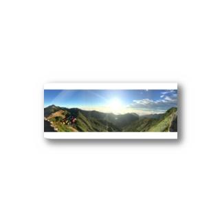 燕岳グッズ Stickers