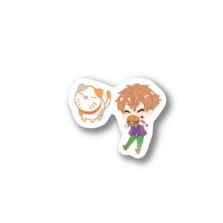 【耳deデートin北海道】伊吹湊(ぬいぐるみ) Stickers