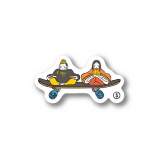 Tanabata Skate Sticker Stickers
