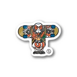 Yakkodako Skate Sticker Stickers