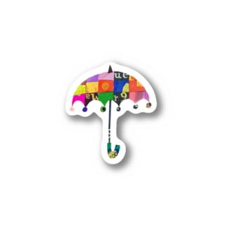 umbrellaステッカー Stickers