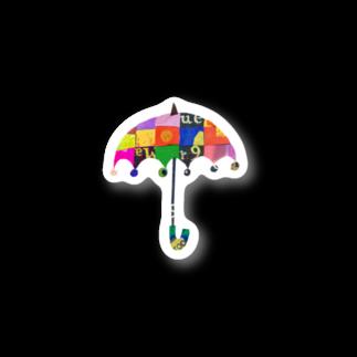 畠川美裕のumbrellaステッカー Stickers