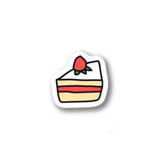 ショートケーキ Stickers