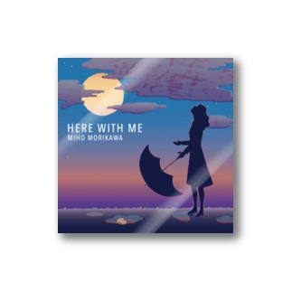 ステッカー【HERE WITH ME】 Stickers
