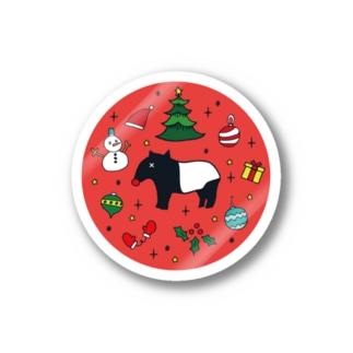 Nptyy / エンプティのNoono Xmas ステッカー (レッド) Stickers