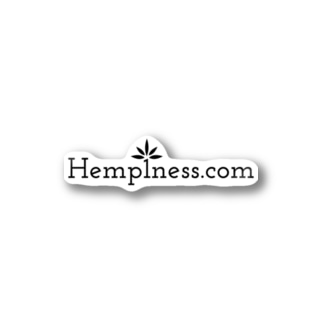 HempinessのHemp1ness.com Merch Stickers