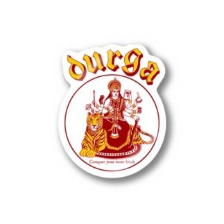 DURGA 赤×黄色(ズレ) Stickers