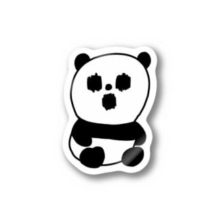 ホラーパンダくん Stickers