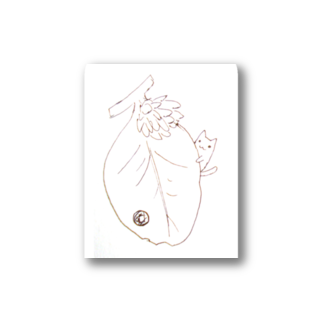 BlueSeenのネコむし『あずき』 Stickers