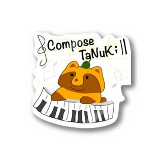 Compose TaNuKi Stickers