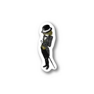燕尾服の少女 Stickers