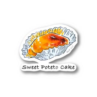 お菓子シリーズ Sweet Poteto Cake Sticker
