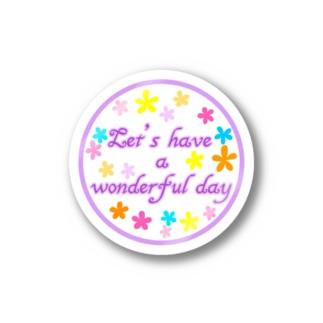 素敵な日を Stickers