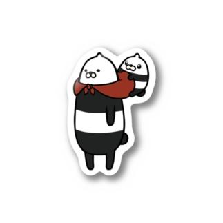 三文堂ひよこ Stickers