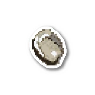 岩牡蠣 ステッカー
