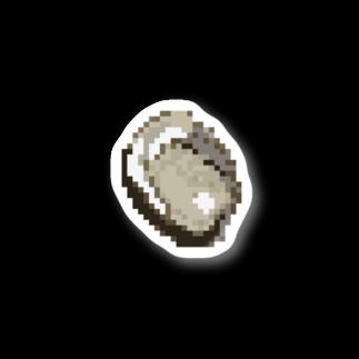 岩牡蠣小屋の岩牡蠣ステッカー