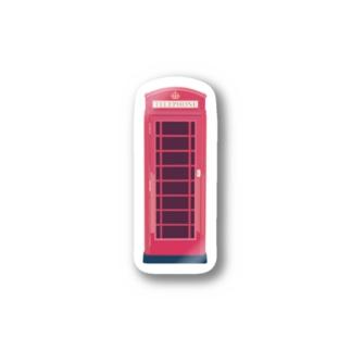 イギリスのテレフォンボックス Stickers