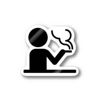 三階ラボの喫煙ルーム Stickers