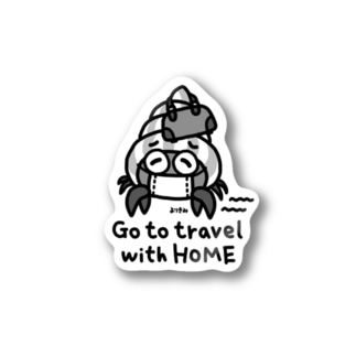 Go to travel with HOME Stickers