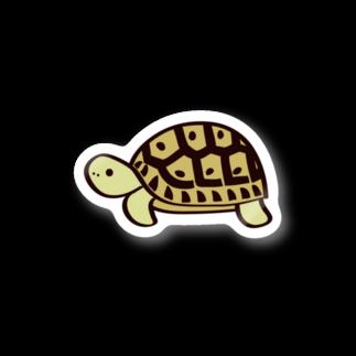 またのギリシャリクガメステッカー Stickers
