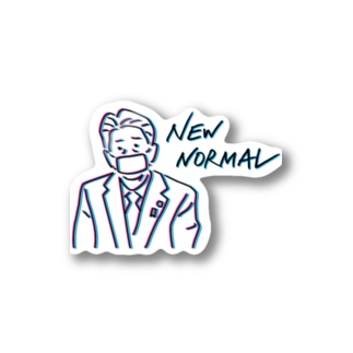 NEW NORMAL Stickers