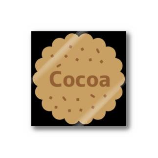 Cocoa Black ステッカー(クッキー) Stickers