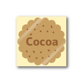 Cocoa コットンアイボリー ステッカー(クッキー) Stickers