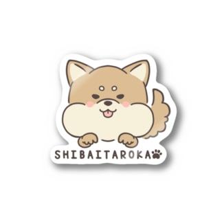 シバいたろか柴犬 Stickers