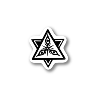 変な宗教君 Stickers