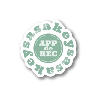 sasakey マルチグッズ Stickers