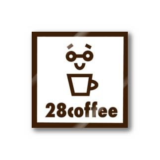 28coffeeステッカー Stickers