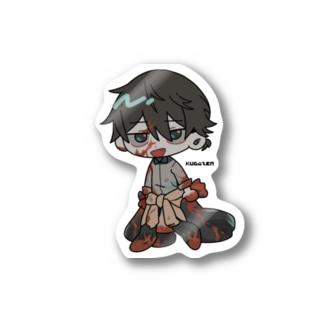 ウチの子ステッカー(空閑くんver.) Stickers