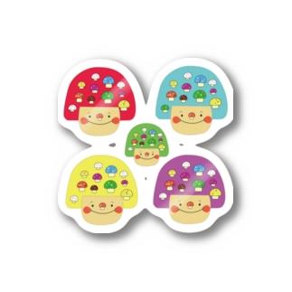mushgirl Stickers