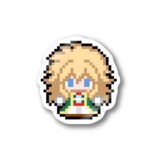 ドット絵ステッカー(ギルバード) Stickers