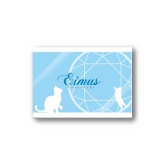 eimusグッズ(水色) Stickers