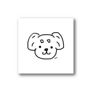 まろ眉シリーズ 垂れ耳わんこ🐶 Stickers