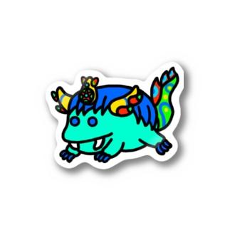 まるっと青龍 Stickers