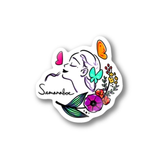 Feel the wind. color Stickers