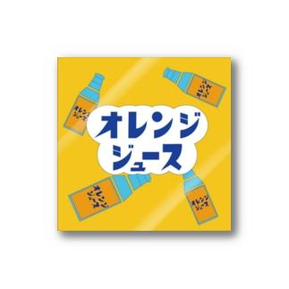 オレンジジュース Stickers