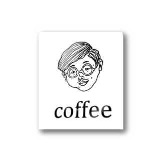 COFFEE MAN Stickers