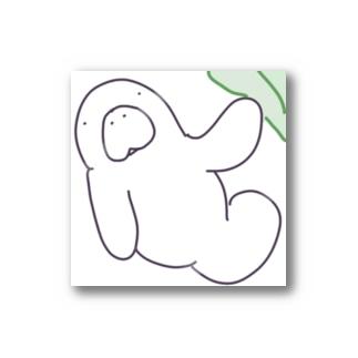 こんにちわマナティくん(あっぷ) Stickers