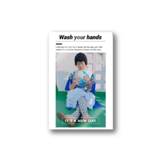 ★手を洗ってるの Stickers