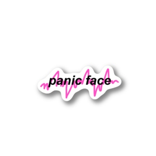 panic face Stickers