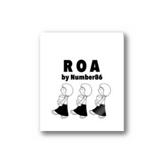 ROAシール Stickers