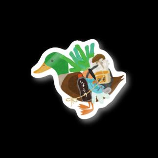 chicodeza by suzuriのカモネギマスターの雑貨とグッズTシャツ Stickers